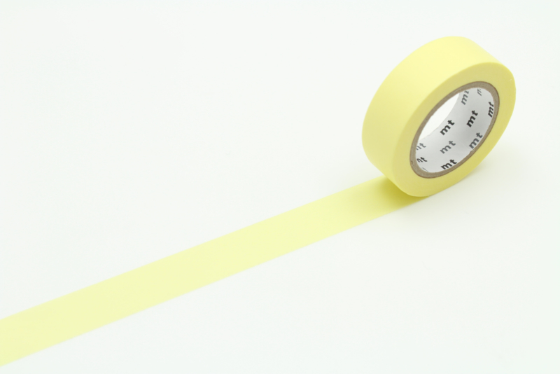 MT Masking Tape PASTEL LEMON