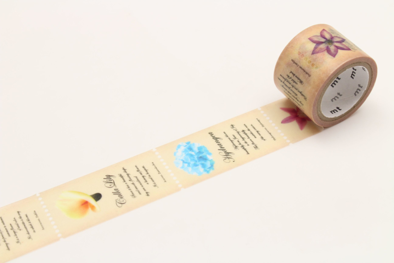 MT Masking Tape FAB FLOWER