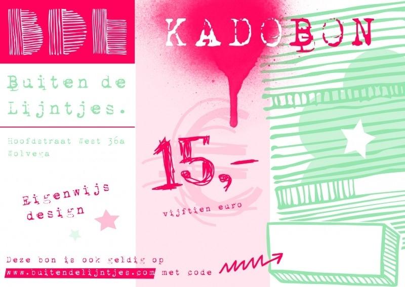 Kadobon 15.00
