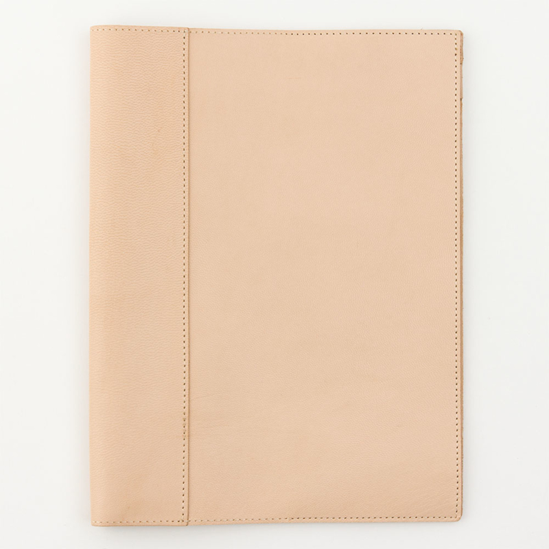 Midori MD Goat Leather Cover - A4