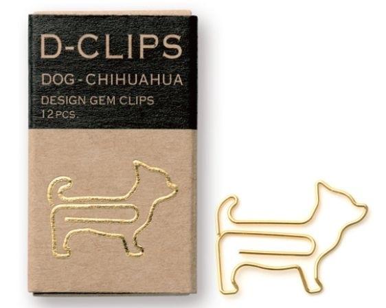 Midori D-Clips Dog Chihuahua Gold 3