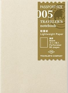 TRAVELER`S Notebook PP - Refill 005 : Lightweight Paper