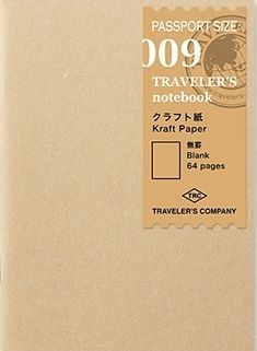 TRAVELER`S Notebook PP - Rf 009 : Kraft Paper