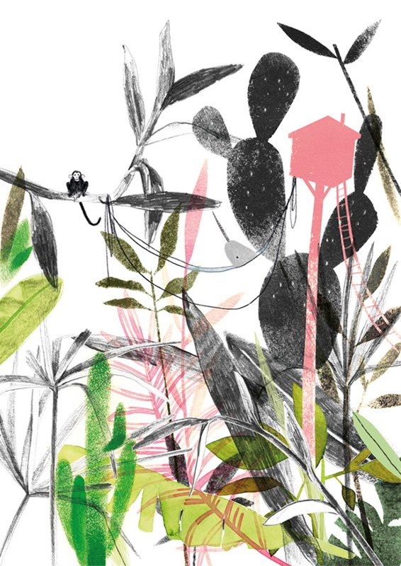 Ruth Hengeveld kaart - Jungle - A6