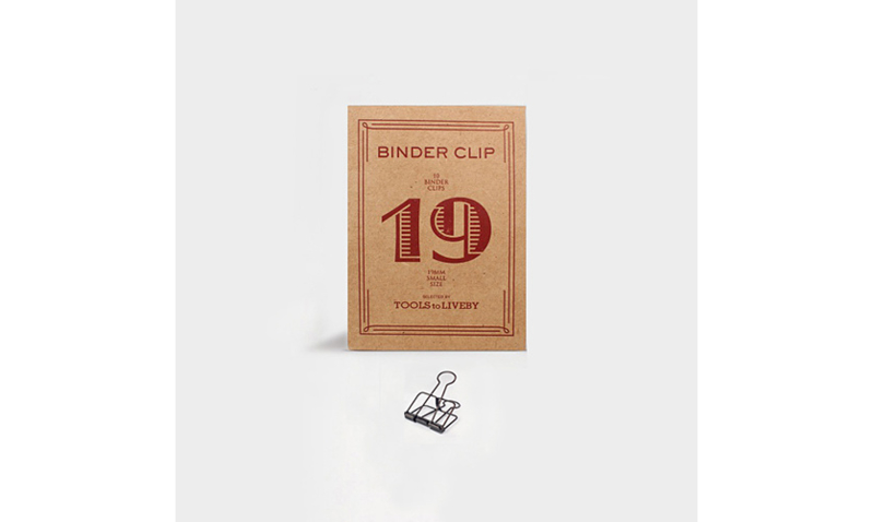 Tools to Liveby No.19 Binder Clips - BRONZE