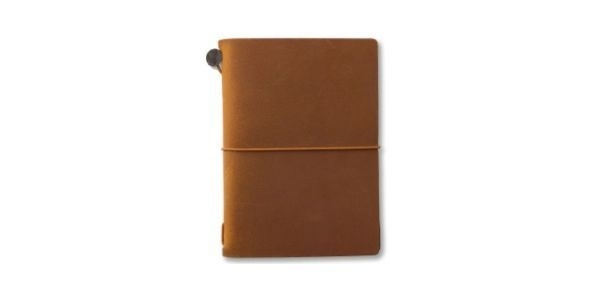 TRAVELER`S Notebook - PP Size Camel