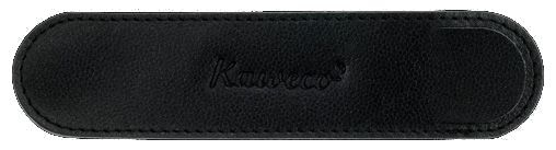Kaweco Eco Leather Pouch Black Long for 2 Pens - Special