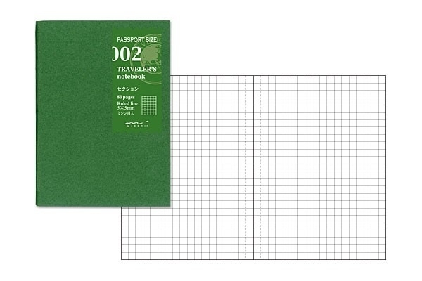 TRAVELER`S Notebook PP - Refill 002 : Grid