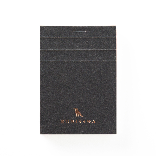 Kunisawa - Find Block Memo - Charcoal