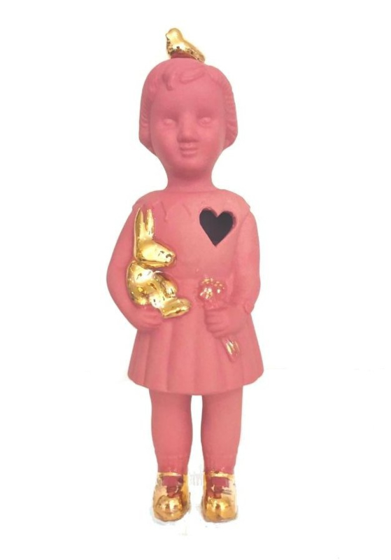 Lammers en Lammers Mini Doll Golden Sparrow - Pink