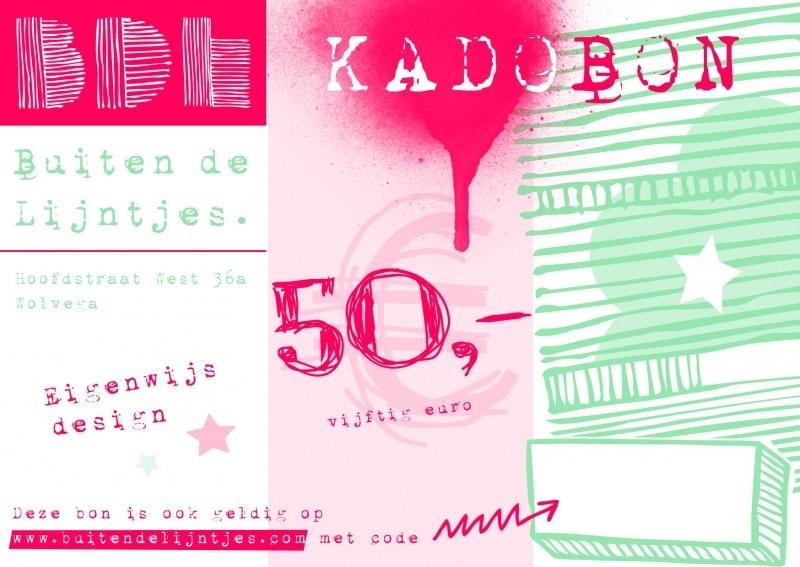 Kadobon 50.00
