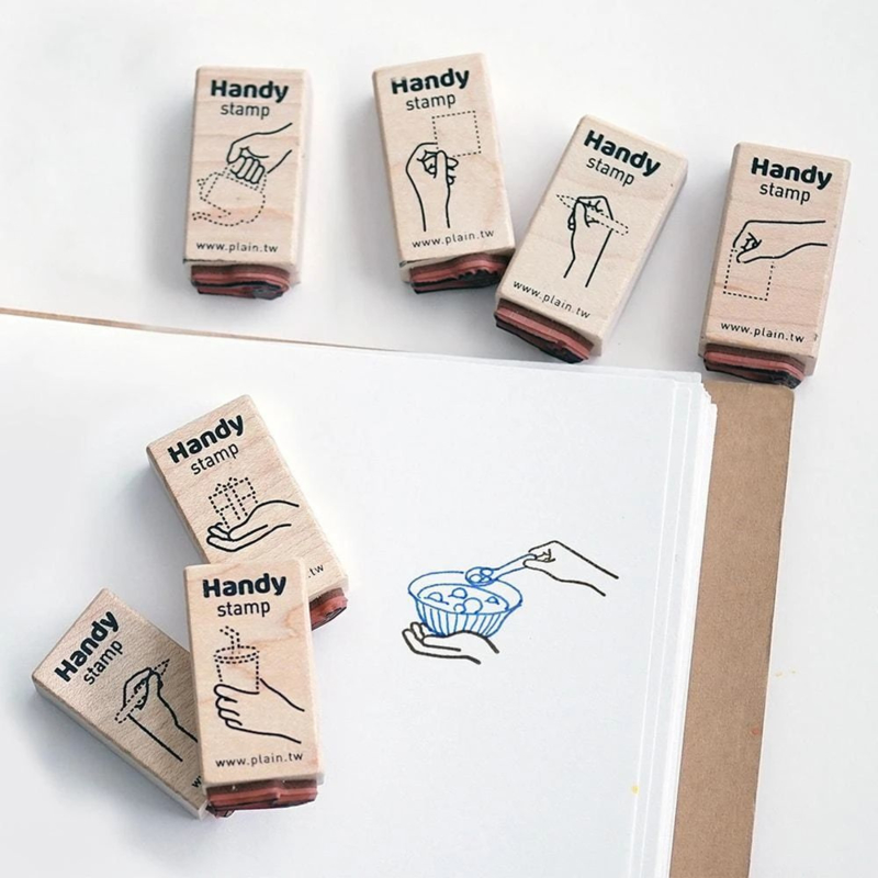 Plain Stationery Handy Stamps