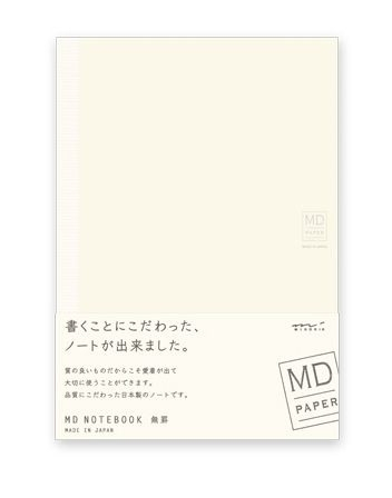 Midori MD Paper Notebook A5 Blank