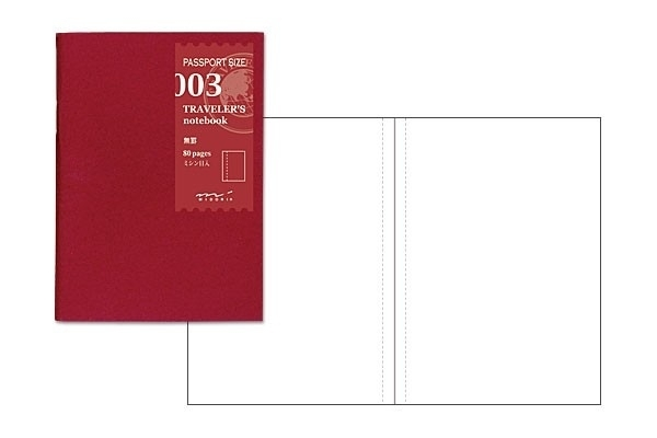TRAVELER`S Notebook PP - Refill 003 : Blank
