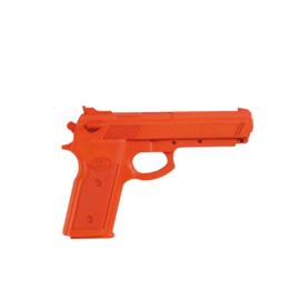 Rubber pistool oranje