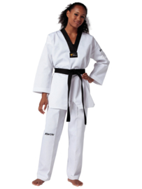Taekwondopak Victory zwarte V-hals
