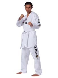 KWON Taekwondo Pak / Dobok Starfighter witte V-hals