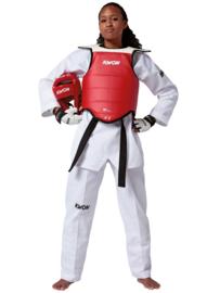 KWON Taekwondo Borstbeschermer Competition WT goedgekeurd
