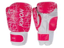 Bokshandschoenen KIDS NEON Pink 6oz