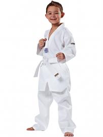 Taekwondopak Song witte V-hals