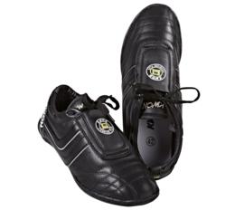KWON Taekwondo schoenen Premiere leer zwart