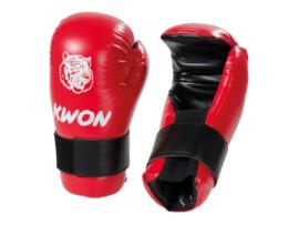 KWON Handbeschermer Anatomic Tiger KIDS Rood maat XS.