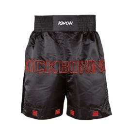 Kickboksbroek zwart / rood