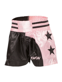 Kick - Thaiboksbroekje Roze/Zwart