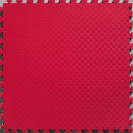 Puzzelmatten Zwart / Rood 100x100x2cm