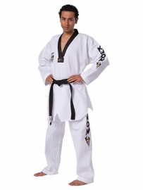 Taekwondopak Starfighter zwarte V-hals 1007