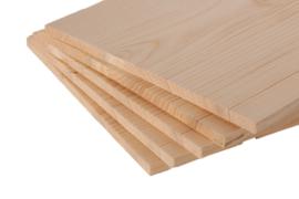 Set van 5 houten breekplanken 30x30x1.5