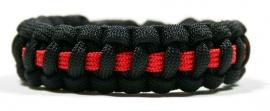 Thin Line Bracelet Rood