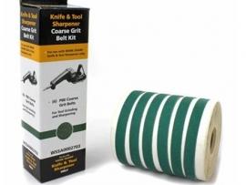 Work Sharp P80 Grit Belt Kit 6 Pcs