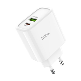 Hoco dual port speed charger USB-C & USB-A