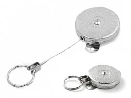 """Key-Bak 48"""" Retractor 487HD Stainless steel cord"""