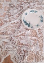 Gehaakt tafelkleed ovaal 170 x 145