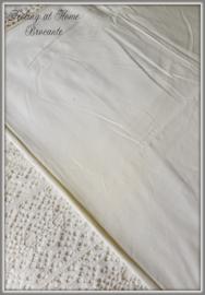 Frans laken met kant, 170 breed