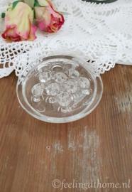 Glazen bloemensteker klein