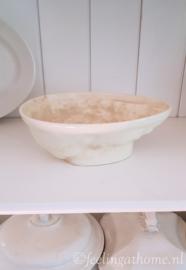 Grote antieke puddingvorm