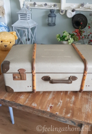 Brocante grote koffer