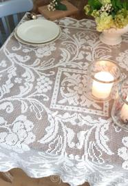 Filetkant tafelkleed 110 x 110