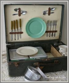 Picknickset jaren 50