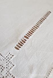 Antieke linnen servetten, 3 st
