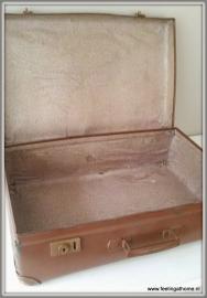 Antieke grote Franse koffer