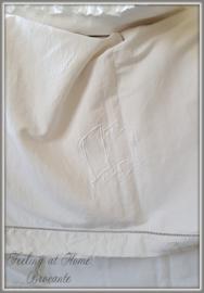 Antiek linnen laken, 210 breed