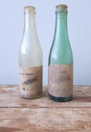 Set oude Franse flesjes