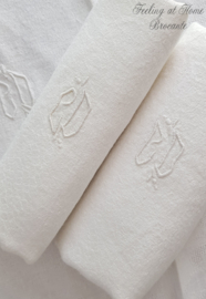Antieke servetten, 3 st