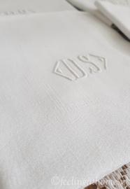 Damasten servetten, 6 st