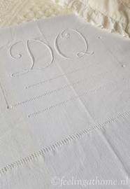Antiek Frans laken, 180 breed