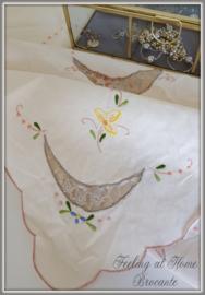 Frans tafelkleedje 80 x 80